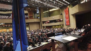 Nacions Unides. Sessió de 23 gener 2012 sobre els segons intercalars